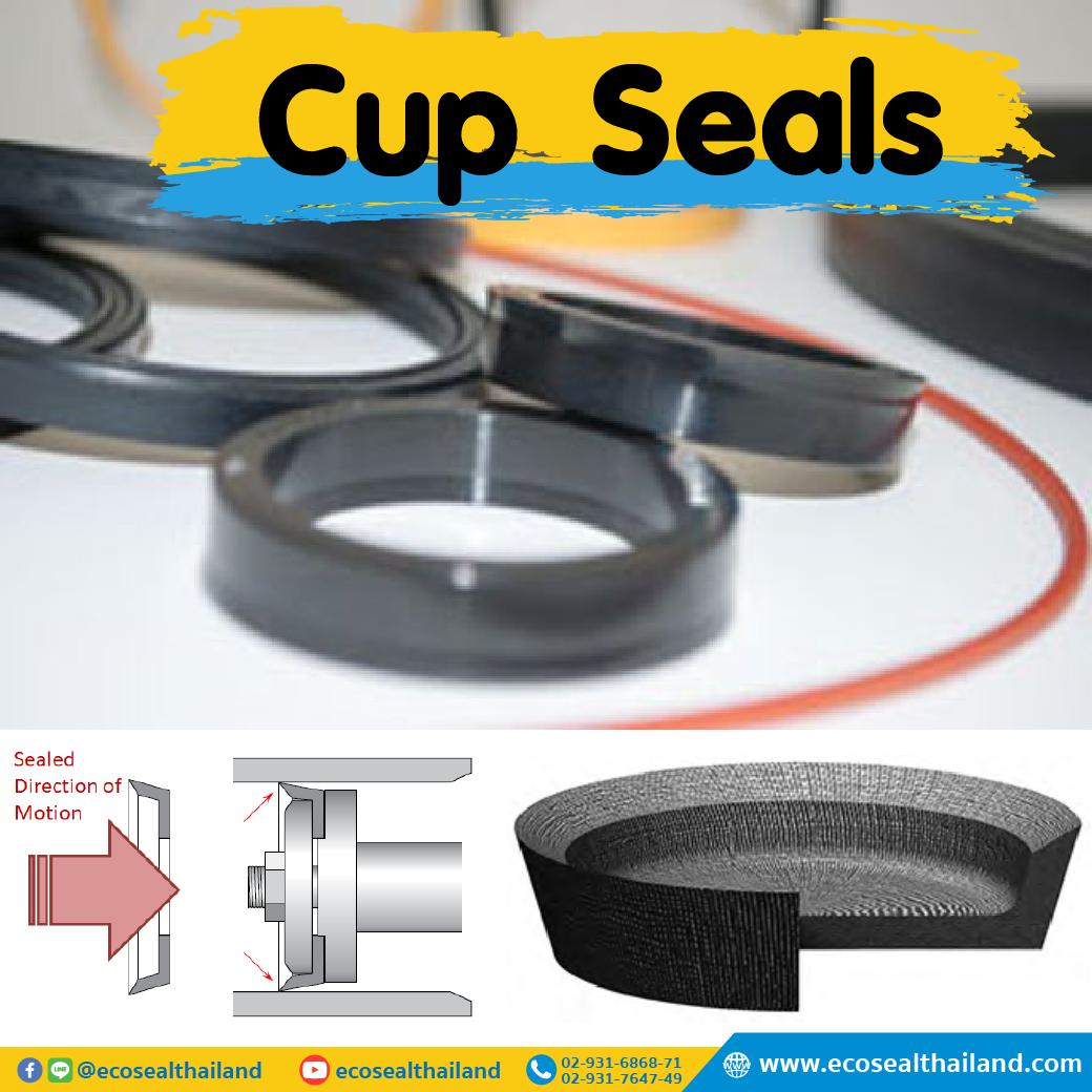 ซีลรูปถ้วย Cup Seals
